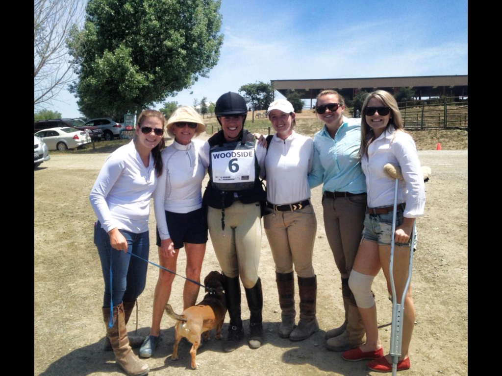 After Kaitlin's stellar advanced round at Woodside!